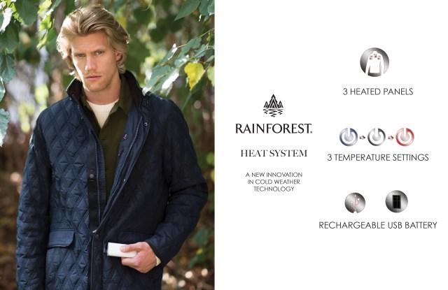The Rainforest Heat System jacket