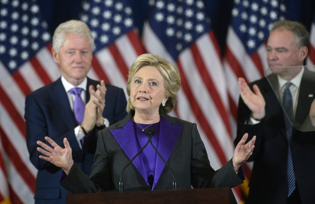 Hillary Clinton's choice of purple signified unity, according to trend forecaster Li Edelkoort.