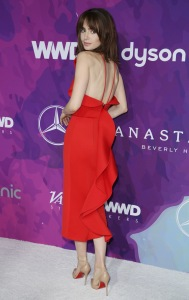 Lily Collins Stylemakers 2016
