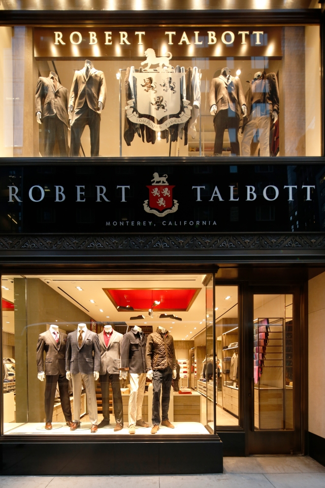 The Robert Talbott flagship store in New York