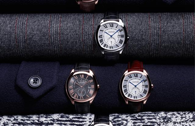 Drive de Cartier watches.