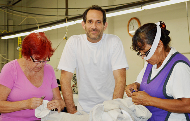 Dov Charney in South Central Los Angeles.