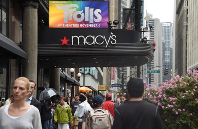 Macy's donald trump stock market wall street