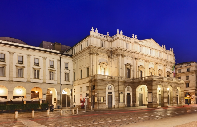 La Scala in Milan