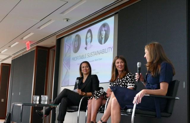 Anne Fulenwider, Nina Garcia and Cara Smyth.