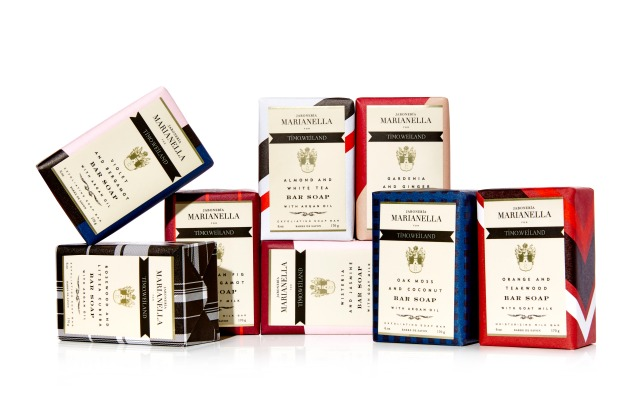 Timo Weiland has collaborated with Marianella Soap.
