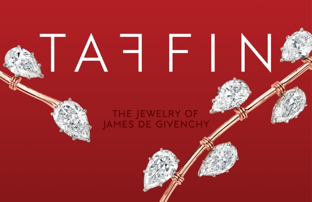 "The cover of ""Taffin: The Jewelry of James de Givenchy."""