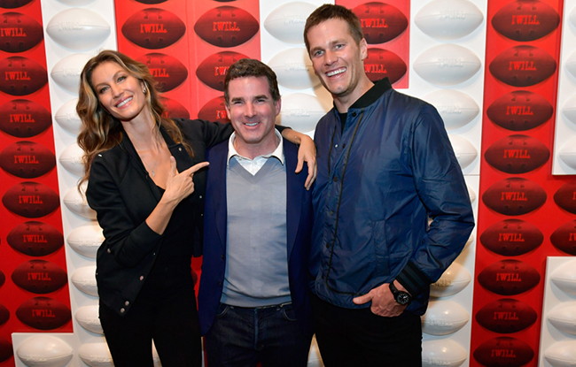 Under Armour Lands in Boston With Tom Brady and Gisele.
