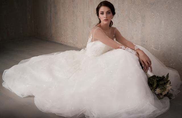 The Adrianna Papell Group will launch its first wedding dress collection with the House of Wu.