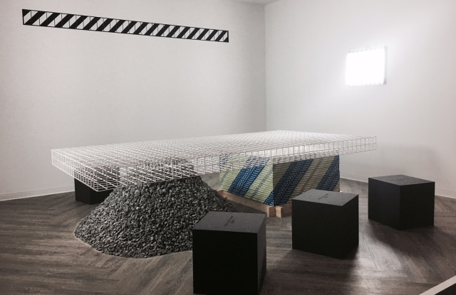 Off-White founder Virgil Abloh's furniture collection.
