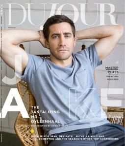 Jake Gyllenhaal's DuJour cover