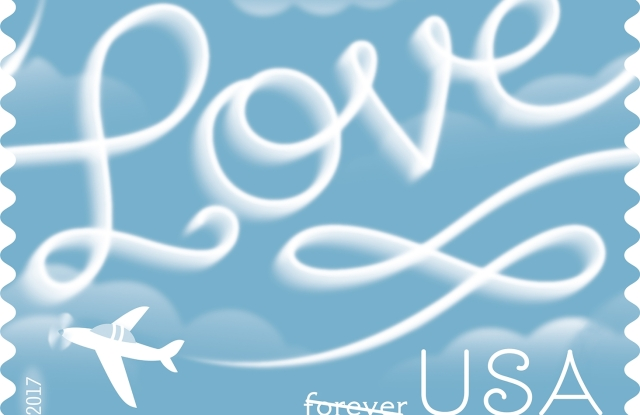 Graphic designer Louise Fili had a hand in creating this new stamp for the U.S. Postal Service.