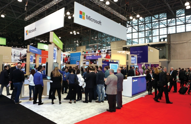 The NRF has expanded its exhibit space this year to 237,000 square feet, up from 228,000 last year.