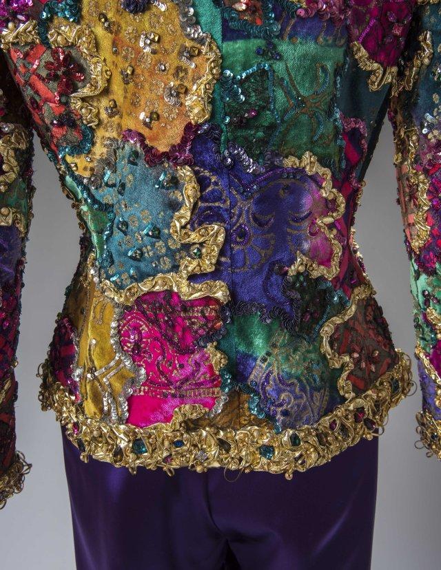 A 1985 Givenchy ensemble.