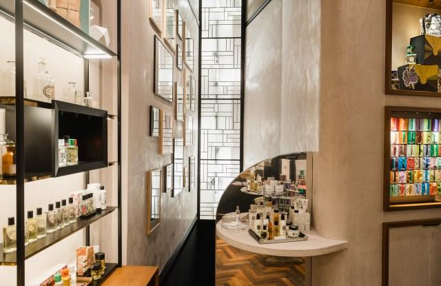 Diptyque's light-filled Berlin boutique.