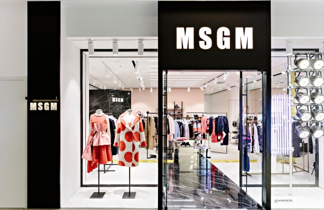 MSGM store in Beijing