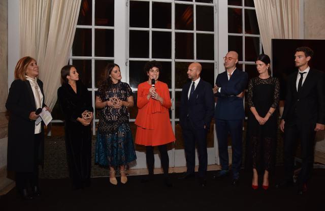 Maria Latella, Delfina Delettrez Fendi, Benedetta Bruzziches, Valentina Moretti, Corrado del Fanti, Savino Muragli, Laura Angius, Matteo Bisol.
