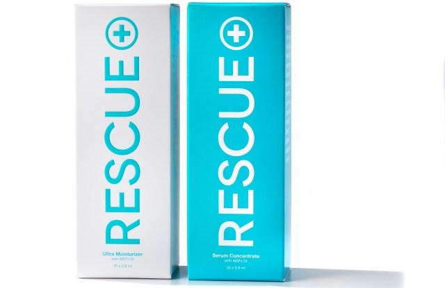 Rescue Serum and Moisturizer