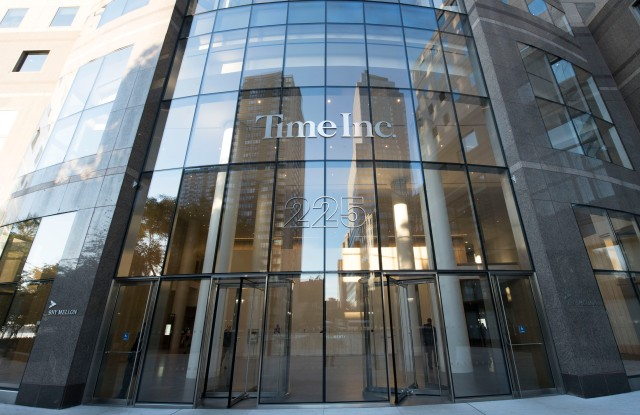 Time Inc.'s New York headquarters.