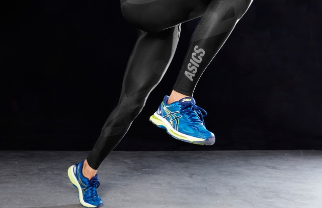 w Asics Finish Advantage Tight