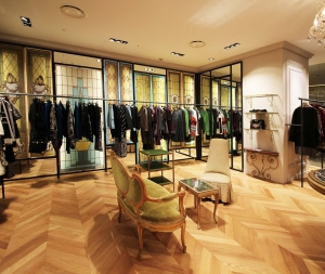 Antonio Marras shop-in-shop at Seoul's Hyundai shopping mall