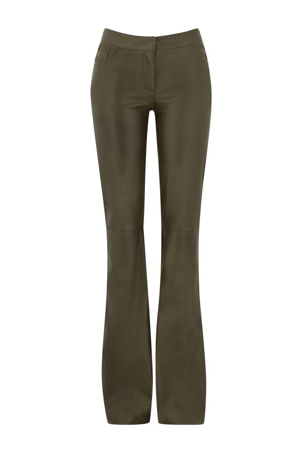 amanda wakeley leather pants