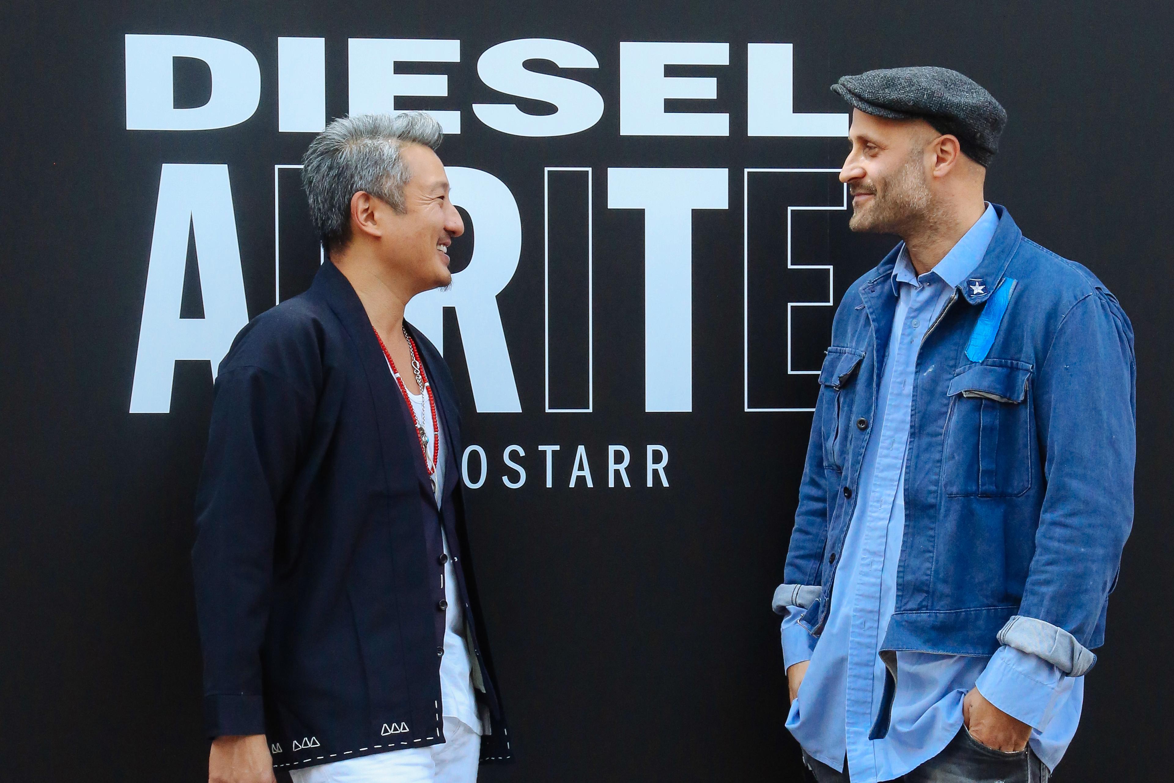Andrea Rosso Talks Diesel's License Strategy in Berlin