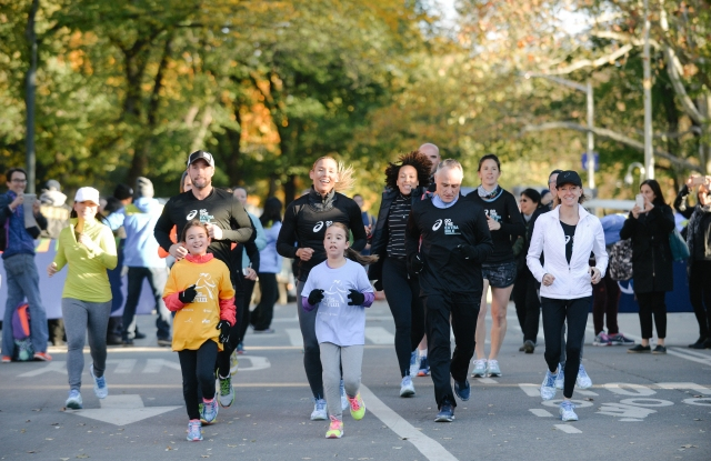 Asics donated $1.5 million worth of shoes to Girls on the Run