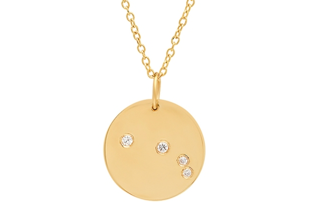 Bare Collection family constellation necklace
