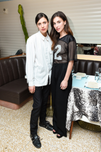 Margaret and Rainey Qualley