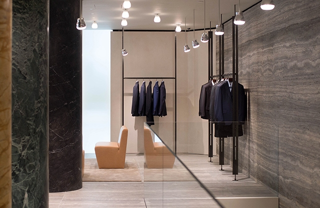 The Brioni flagship on Madison Avenue.