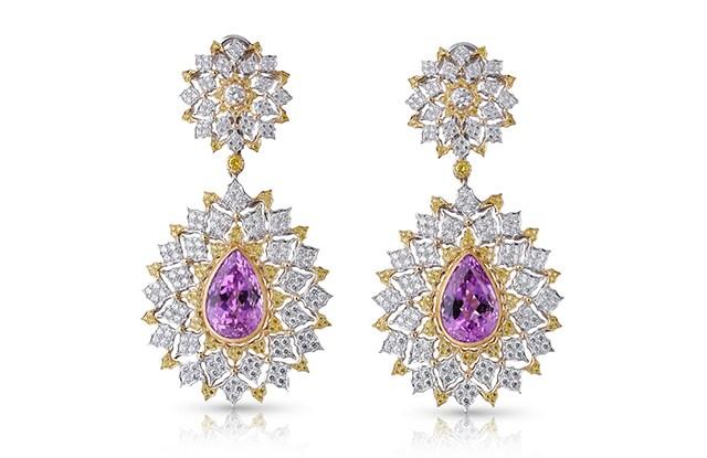 Earrings by Buccellati.