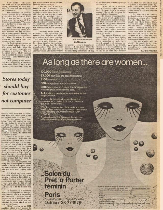 WWD October 1976