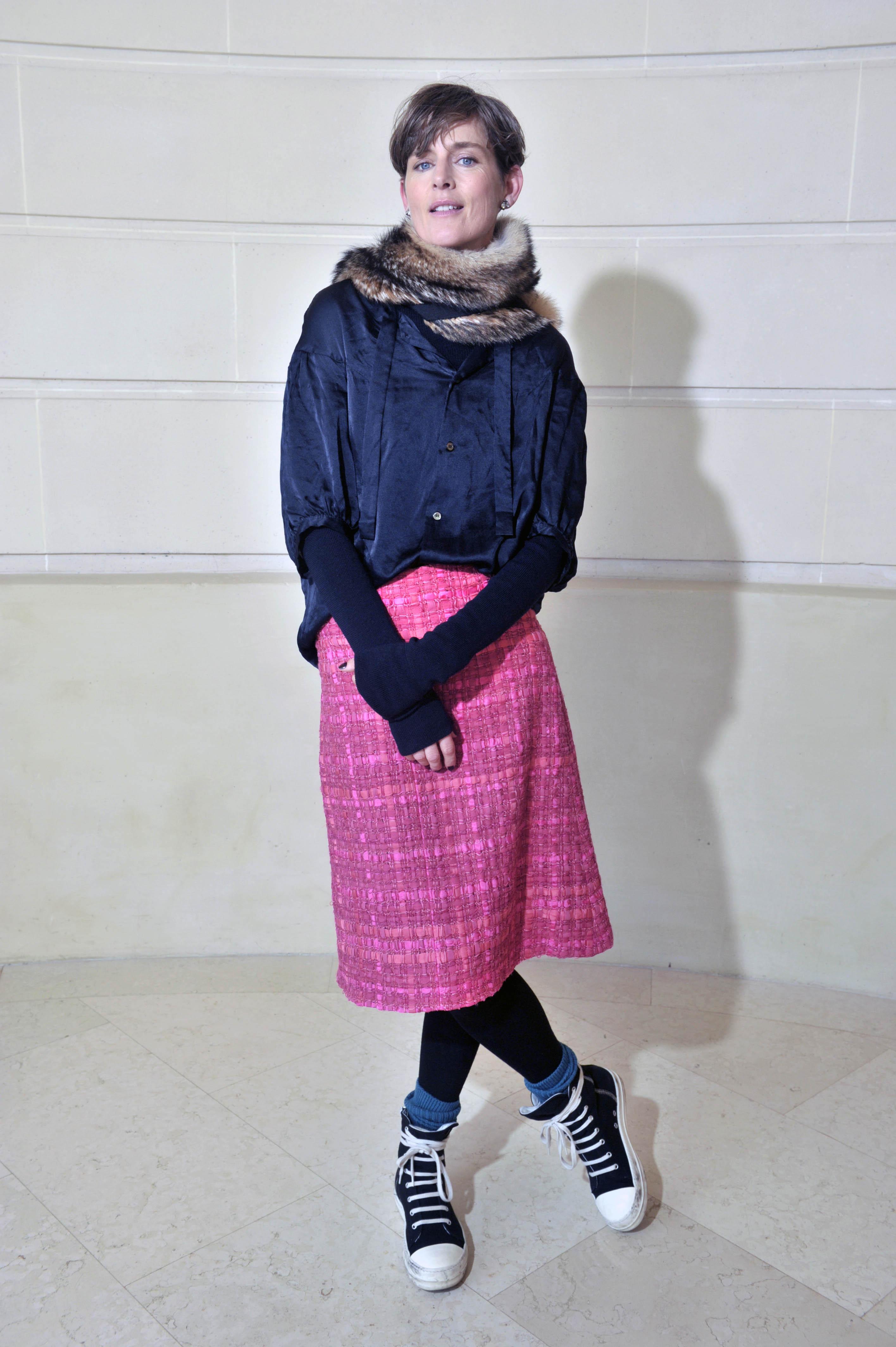 Stella Tennant Chanel Métiers d'Art Show at the Ritz Paris