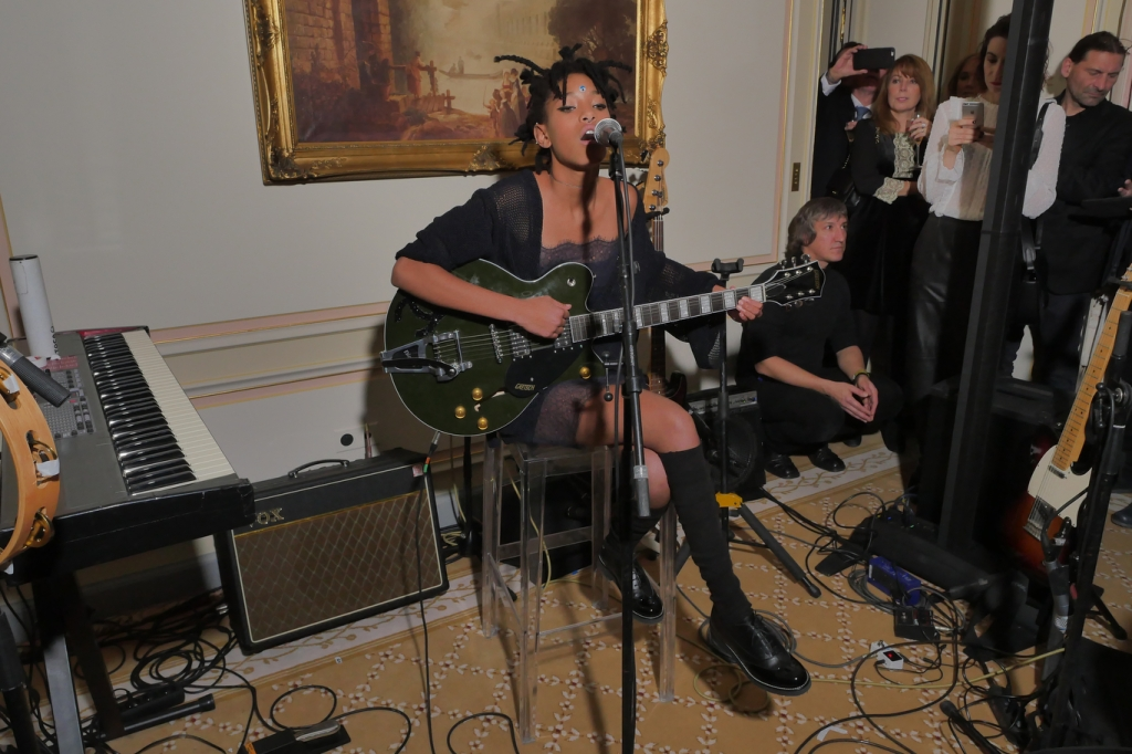 Willow Smith Chanel Métiers d'Art 2016 Ritz Hotel party