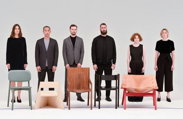 From left, Mette Hay, Seungi Mun, Tino Seubert, Philippe Malouin, Lucy Kurrein and Marjan van Aubel.