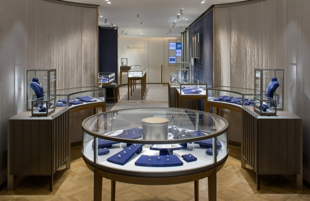 The De Beers flagship on Madison Avenue.
