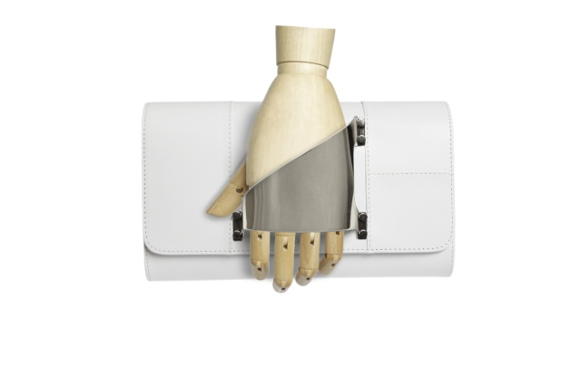 Perrin Paris' Eiffel glove-clutch
