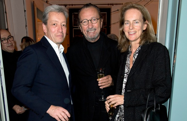 Frédéric Malle, Paolo Roversi and Laetitia Firmin-Didot