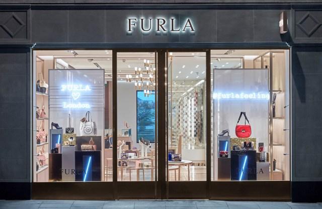 Furla store on London's Brompton Road
