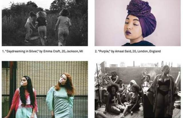 A quartet of images from #Girlgaze.