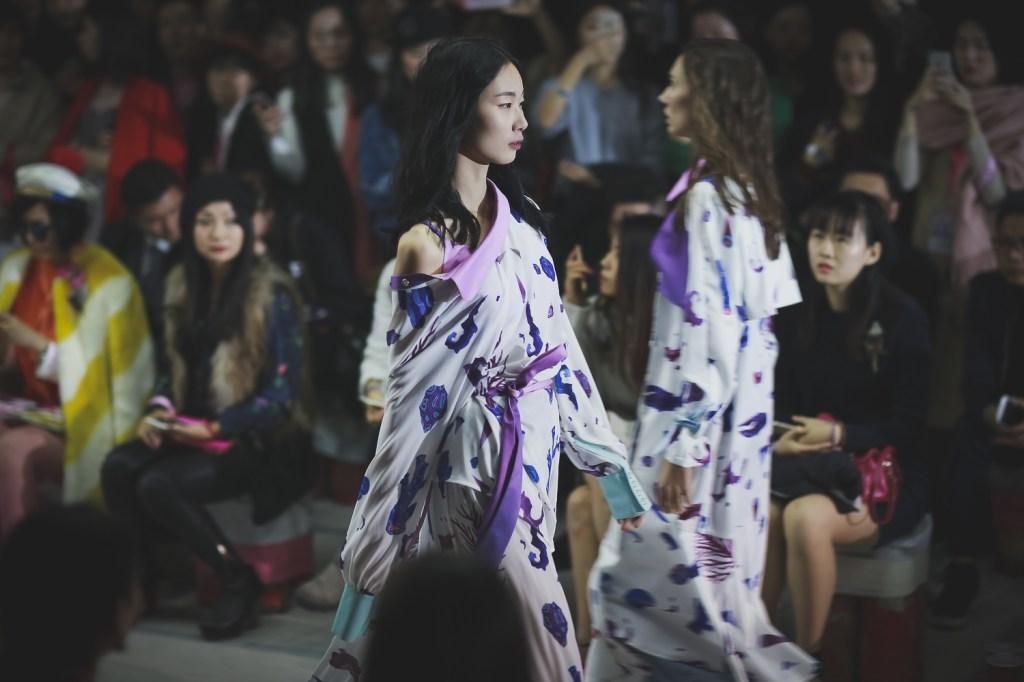 Local designers showcasing their work at a Carpe Diem fashion show.