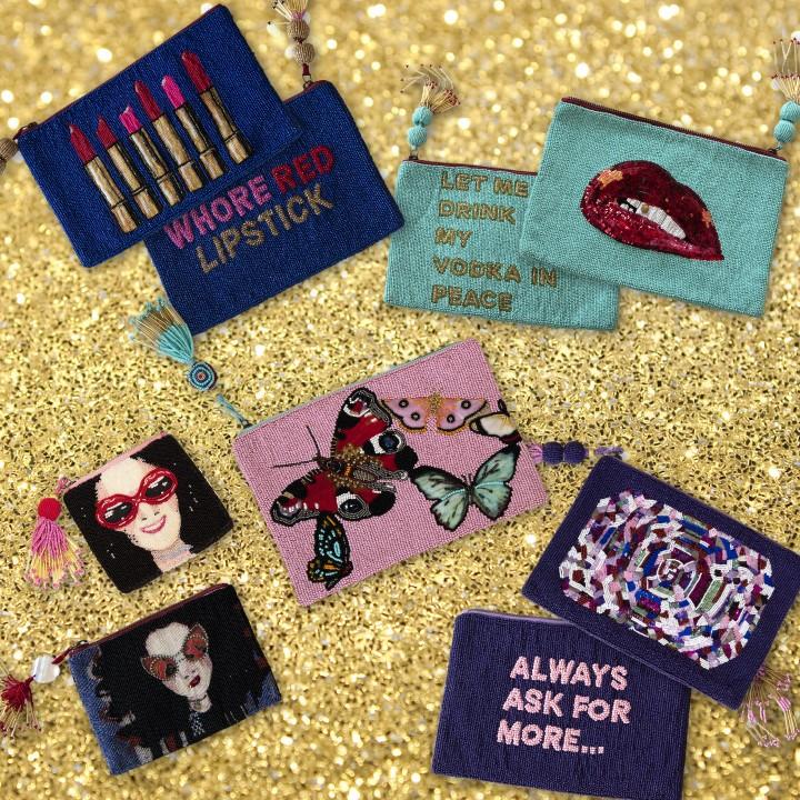 Ashley Longshore clutch collection