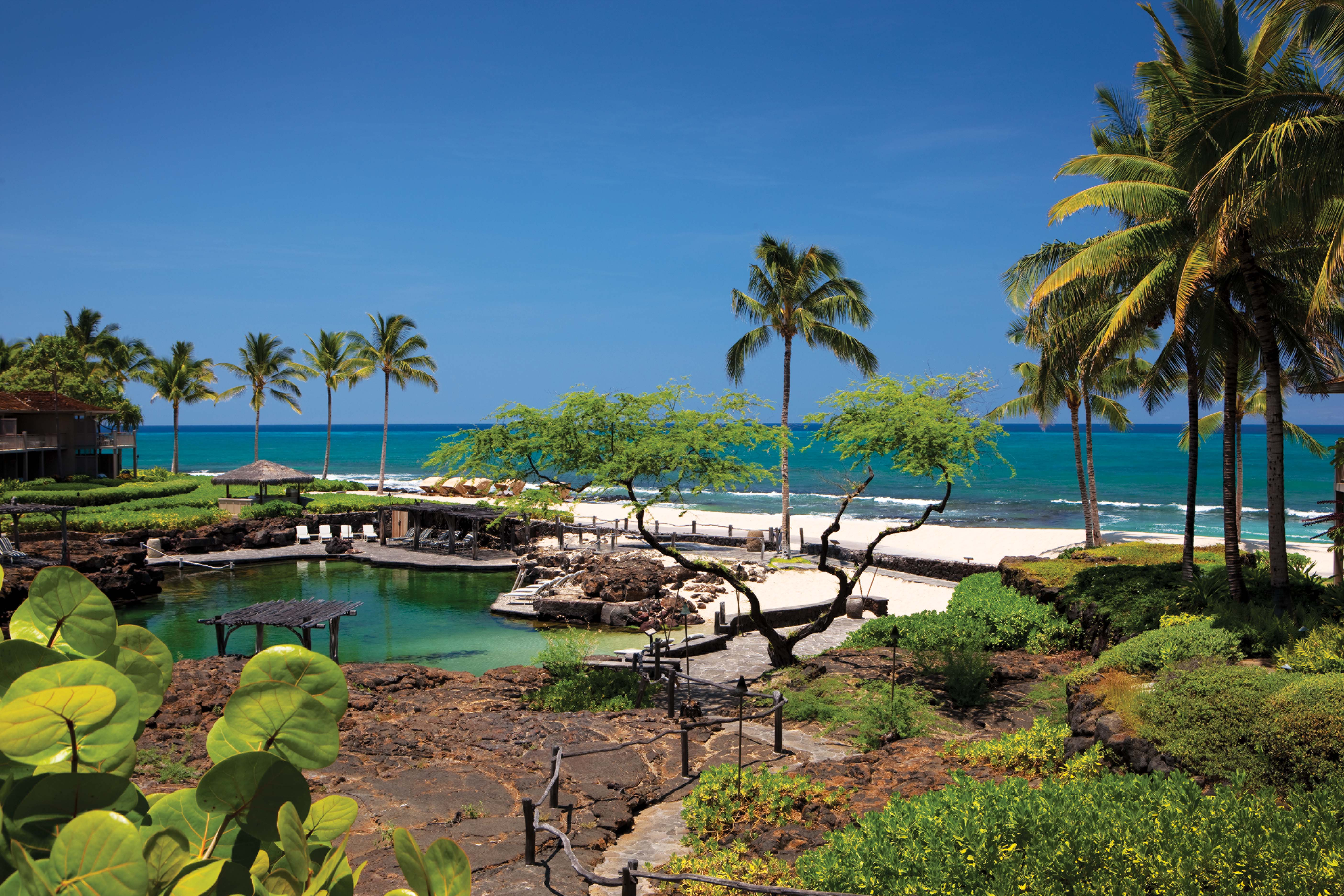 Four Seasons Resort Hualalai in Kona.