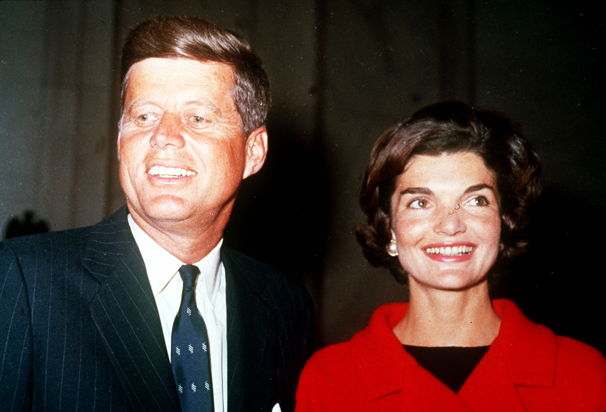 John K. Kennedy and his wife Jackie, during the White House years.
