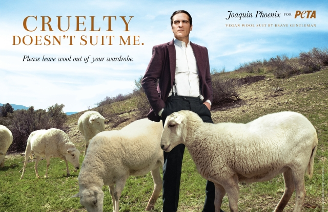 Joaquin Phoenix for PETA