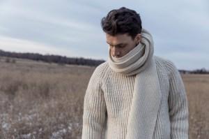 John Sterner scarf sweater
