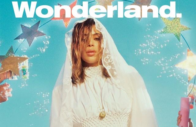 Wonderland cover Kim Kardashian