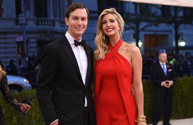 Jared Kushner and Ivanka Trump at the Met Gala, May 2016.