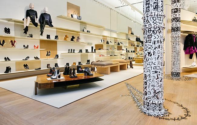 Louis Vuitton Unveils Redesigned SoHo